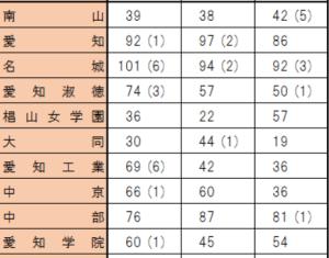 春日井南 私立大学